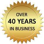 Marick Enterprises, over 40 years in business.